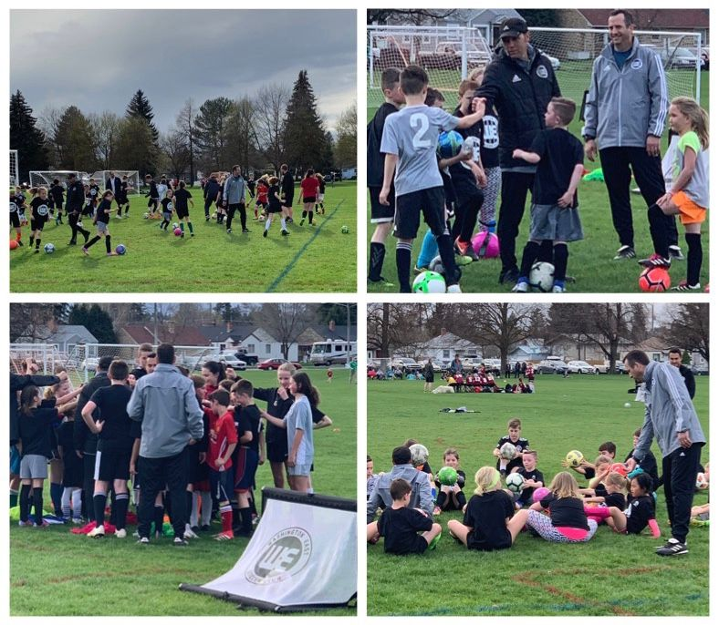 WE SC/IEYSA 'FREE' Spring Soccer Clinics is a SUCCESS!